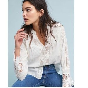 Anthropologie Elmira Buttondown
